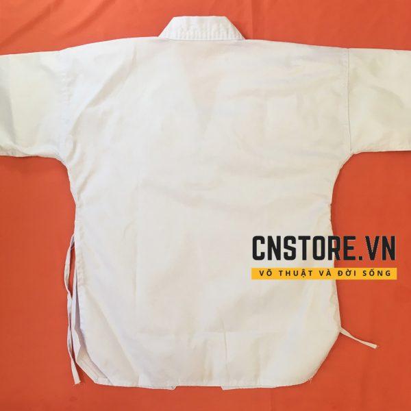 võ phục taekwondo cổ trắng