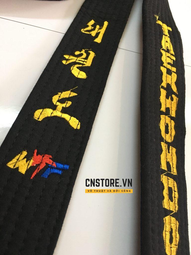 đai-đen-taekwondo