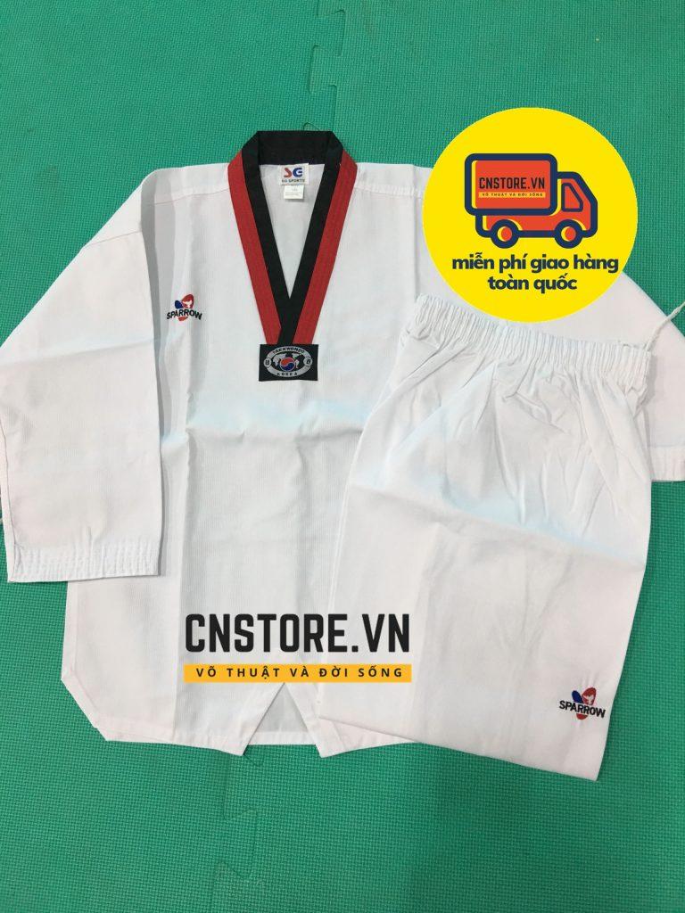 võ phục taekwondo hàn quốc cao cấp