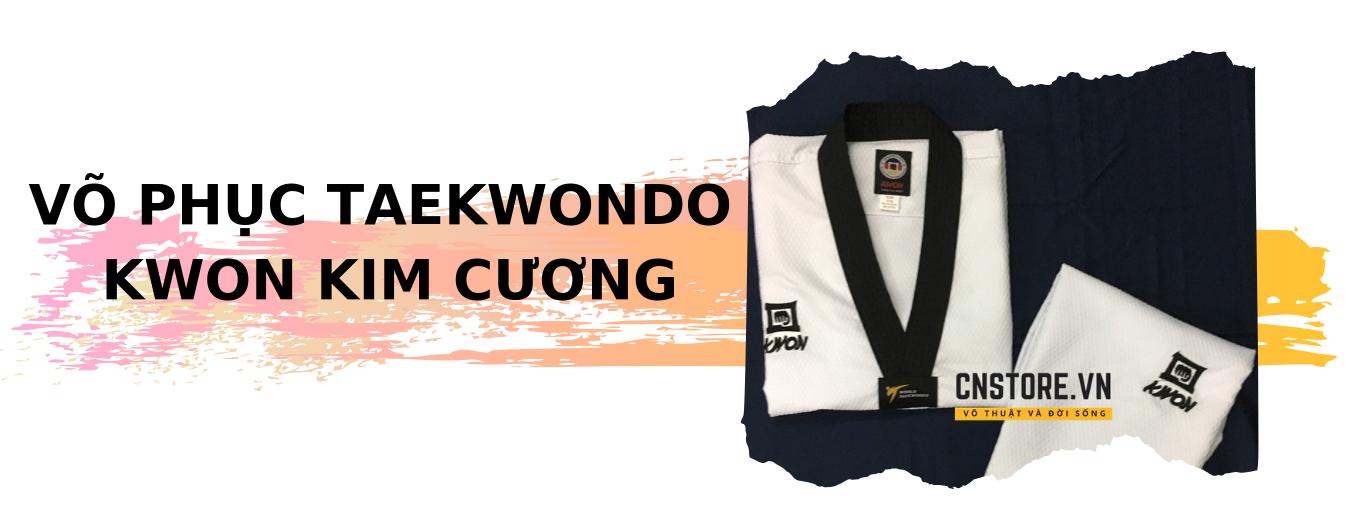 võ phục Taekwondo kwon kim cương