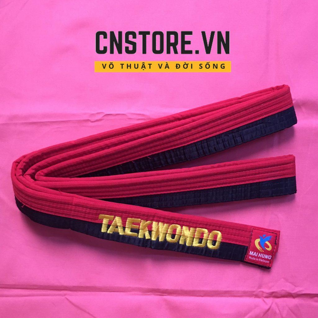 đai đỏ đen Taekwondo