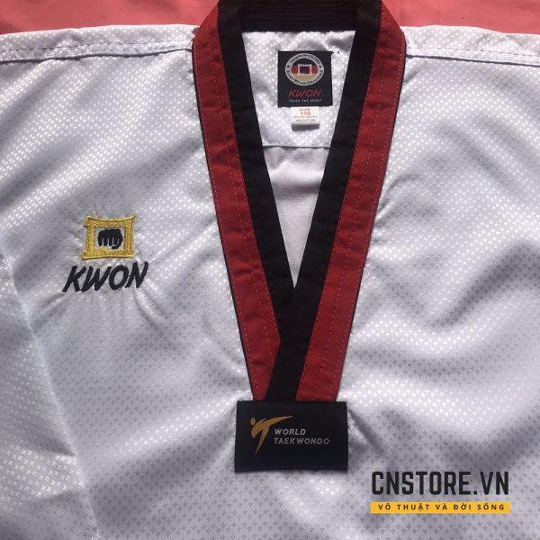quần áo võ taekwondo cổ đen