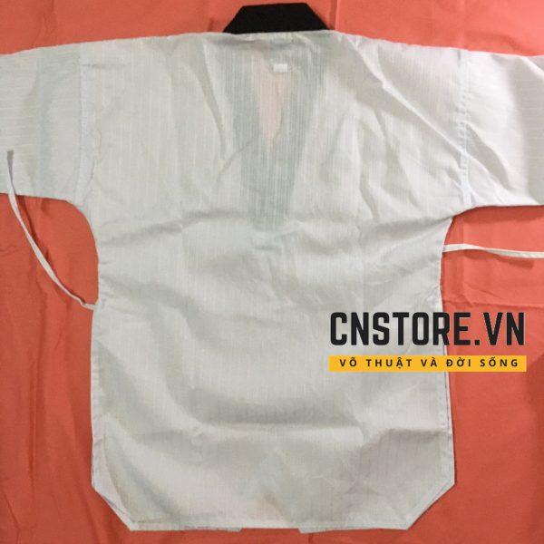 quần áo taekwondo cổ đen giá rẻ