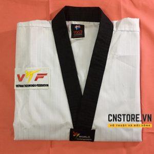 quan ao taekwondo co den